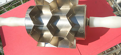 Moline Dough Cutter Hexagon Roller, 2.75 Inches X 14 sections per revolution