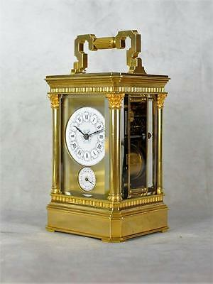 Fine Repeating Carriage Clock With Alarm