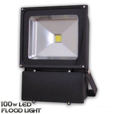 LED Floodlight 100W High Power Outdoor Security Flood Light IP65 F100WB