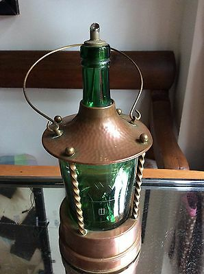 Extremely Quirky Arts And Crafts Copper Lamp