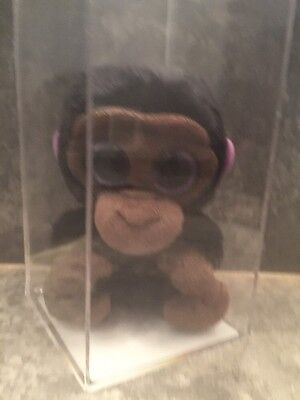 AUTHENTICATED PROTOTYPE Beanie BOO Monkey Museum Quality~ Rare~TRUE BLUE BEANS
