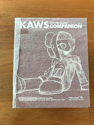 KAWS - Resting place (BROWN) * Mint/never displayed * Companion figure toy