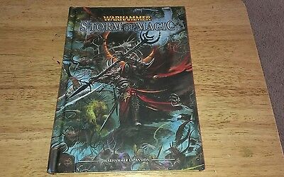 Storm of Magic book for Warhammer Fantasy 8th ed OOP
