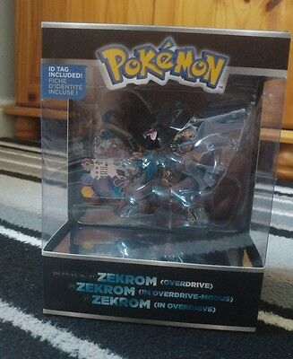 pokemon tomy figure trainers choice zekrom overdrive