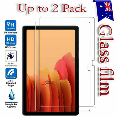 2X Tempered Glass Screen Protector Samsung Galaxy Tab A S2 S3 S4 7.0 8.0 10.1