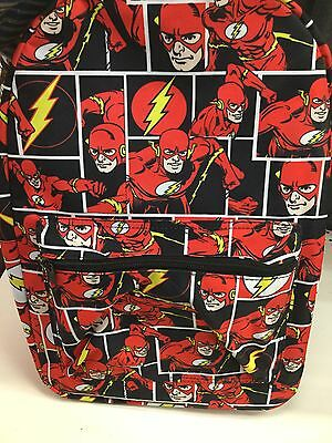 D.C. Comics THE FLASH Backpack. Brand New. Regular Size Backpack. All Ages