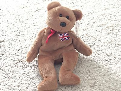 Beanie Babies ty Rare Britannia Retired Toy Collectable