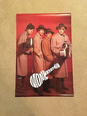 """Vintage (1986) Monkees Poster (24"""" X 36"""") - Excellent Condition"""