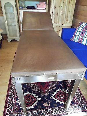 Medical Doctor Patient Examination Couch Massage Table Antique Vintage Tattoo