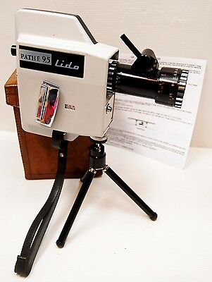 "CAMERA "" PATHE LIDO "" - 4,75 & 9,5 mm  - Modèle ""  DUPLEX "" - RARE - Circa 1950'"