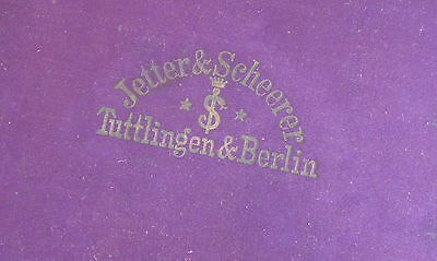 Antique Jetter & Scheerer Tuttlingen Berlin Medical Surgical Instruments Set