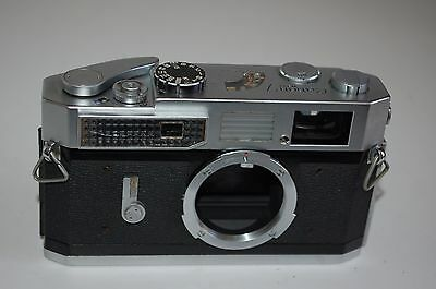 Canon-7 Vintage Japanese Rangefinder Camera. Serviced. 848505. UK Sale