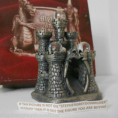Myth And Magic - Dragon Gateway Boxed Castle Figure By Tudor Mint Rare