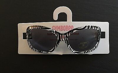 NWT Gymboree Savanna Sunset 0-2 Years Girls Zebra Stripe Sunglasses