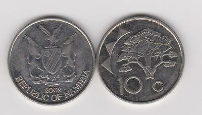 Namibia South Africa: 10 Cents - 3 Coins Mixed Dates -  Limited Qty.
