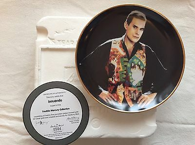 FREDDIE MERCURY OF QUEEN - Collectable Plates Collection (12)