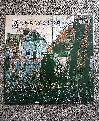 BLACK SABBATH Black sabbath vinyl record LP EX/VGC