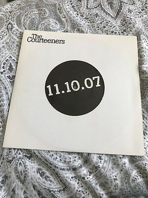 "Courteeners Bide Your Time 7"" Vinyl Extremely Rare"