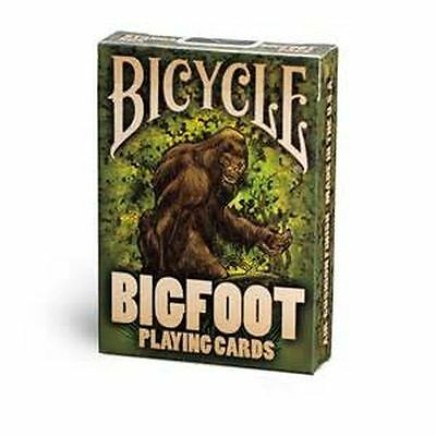Bicycle *BIGFOOT* Playing Cards Brand New Sealed . QTY:1 Deck.