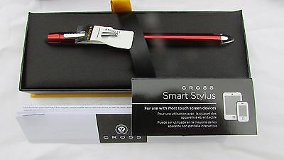 Cross AT0090-13 tech3+ Translucent Red Multifunction Pen BNWT guaranteed 4 life