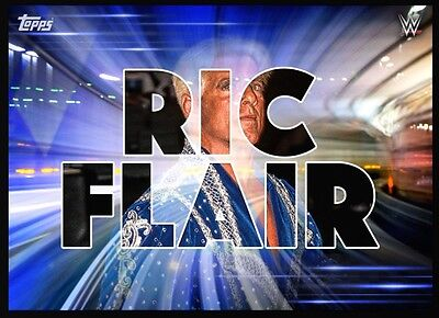 NAME RIC FLAIR Topps WWE Slam Digital Insert Card
