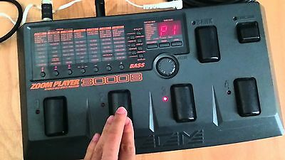 Zoom 3000b Bass Multi Effects Pedal