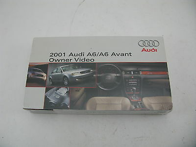 Audi A6/ A6 Avant 2001 01 Owners Video VHS Tape Nice Condition Free Shipping