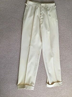 Antique Cricket Trousers C1890 Exquisitely Hand Tailored. Beautiful Condition.