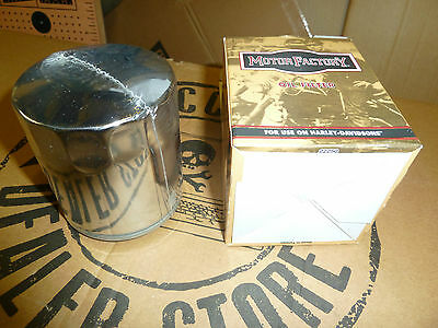 Chrome Oil Filter Harley-Davidson Twin Cam 1999- To Present