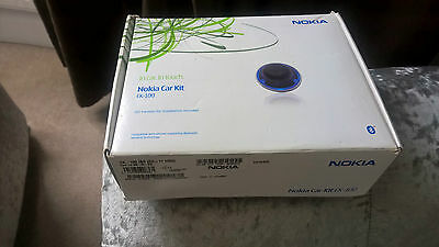 Nokia Ck-100 Hands Free In Car Bluetooth Kit For Calls And Music Streaming