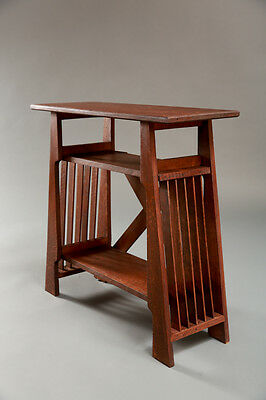 Stickley style, Table-patterned after the work of  Joseph P. McHugh from 1905