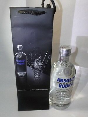 Absolut Vodka Tüte LIMITED EDITION  700 ml - 40%.