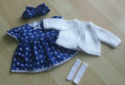 Brand New My First Baby Annabell/Little Baby Born 4 Piece Clothing Set (24)