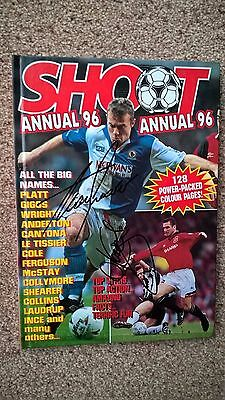 1996 Shoot Annual Signed/ Blackburn Rovers/ Dalglish
