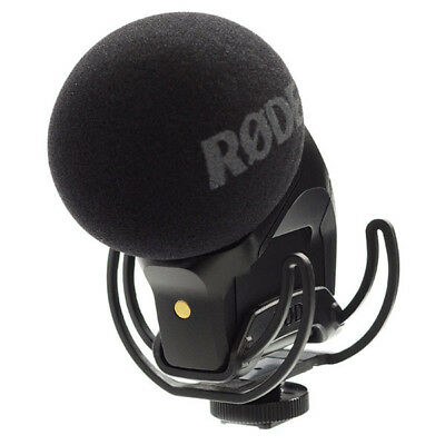 New Rode Stereo VideoMic Pro