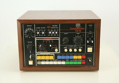 ☆ BEAUTIFUL Vintage ROLAND CR-78 Analogue Drum Machine!☆ 808 ☆ Fully SERVICED!☆