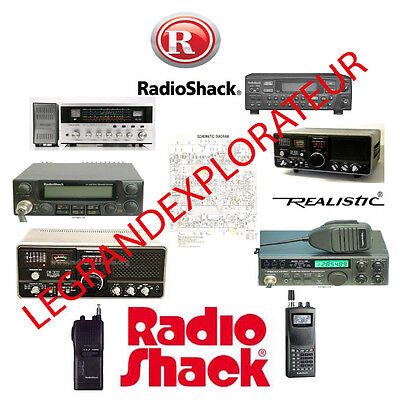 Huge Radio Shack & Realistic Radios Manuals Library - Schematics  530 PDF on DVD