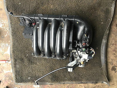 Rover 75 Mg Zt Kv6 Manifold And Throttle Body With Vis Motors