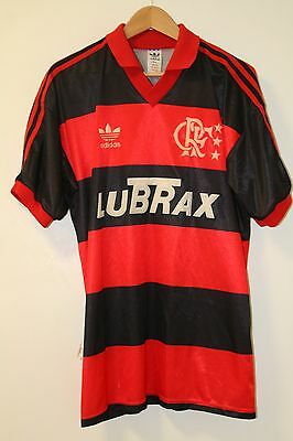 Flamengo 1990-1992 Adidas Home Shirt Large #9