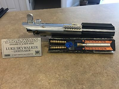 Star Wars Luke Skywalker ANH Graflex 3-cell lightsaber 1:1 replica