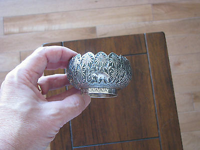 Antique Persian/Indian Silver Bowl