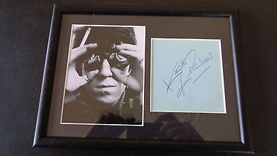 Rolling Stones Keith Richards Autograph /signed. A Great Signature / R Epperson
