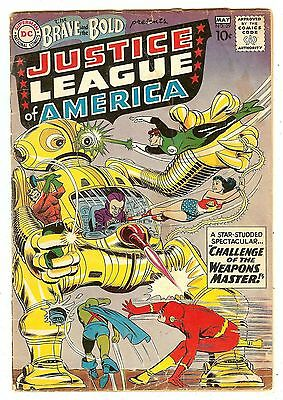 Brave And The Bold 29   2nd Justice League Of America   Robot cover