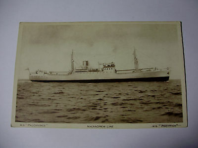 E166 - Macandrew Line ~ Ms Palomares - Postcard