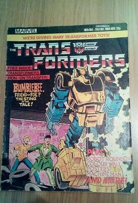 Transformers Comic Issue 3 1984