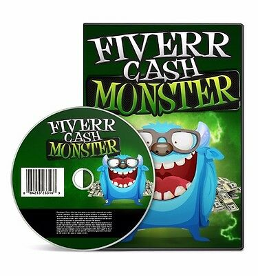 Fiverr Cash Monster Video Training Course + MASTER RESELL RIGHTS !