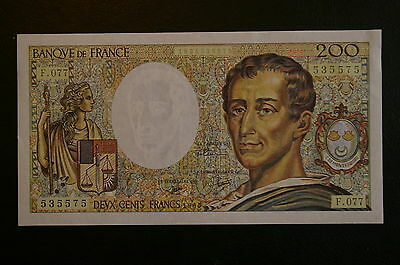 Billet de 200 Francs Montesquieu type 1981 de 1990 /  SPLENDIDE