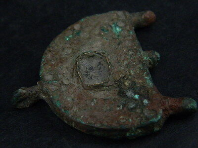 Ancient Bronze Pendant Islamic 1000 AD #BR7181