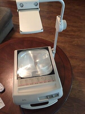 Portable Overhead Projector Apollo Concept 2213 Tested Works School Art Painting