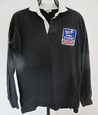BRITISH BOBSLEIGH SHIRT by FRONT ROW, 100% COTTON, SIZE LARGE,FREE P&P.